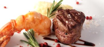 Erotisches Menü mit Garnelen und Rinderfilet   Kochkurs